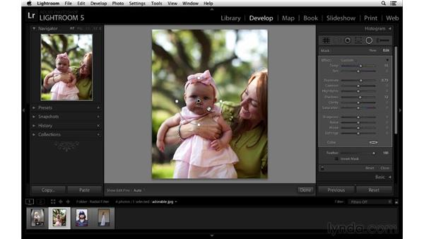 Introducing the Radial filter: Lightroom 5 New Features