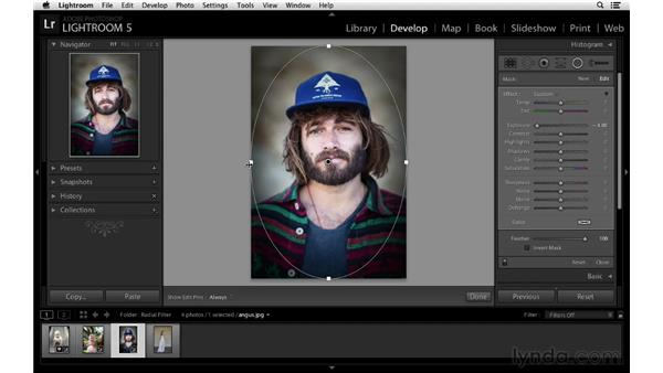 Radial filter tips: Lightroom 5 New Features