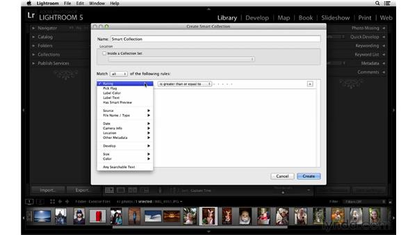 Improvements with Smart Collections and Smart Filters: Lightroom 5 New Features