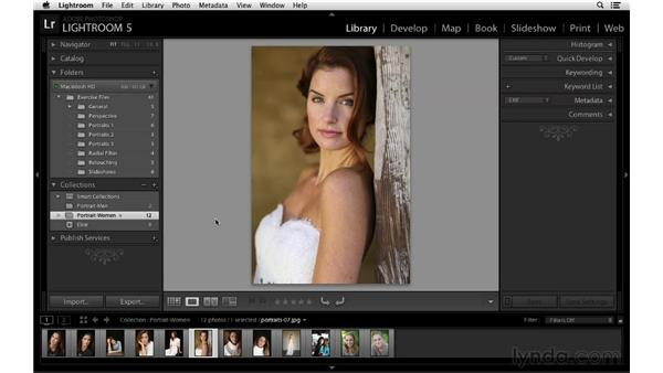 Collection consistency: Lightroom 5 New Features