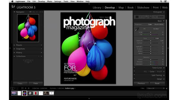 Importing and working with PNG files in Lightroom: Lightroom 5 New Features