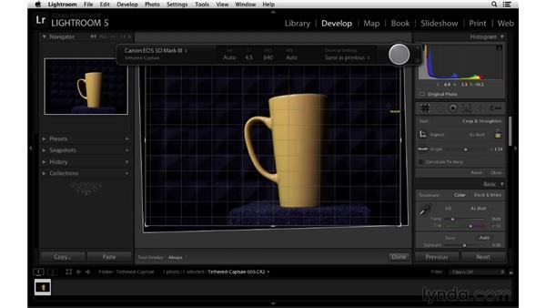Tethered capture shortcuts: Lightroom 5 New Features