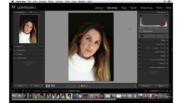 Viewing LAB color values in the histogram: Lightroom 5 New Features