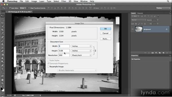 Choosing your source image: Restoring Photos with Photoshop CS6