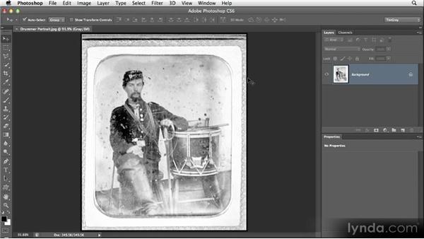 Image restoration strategy: Restoring Photos with Photoshop CS6