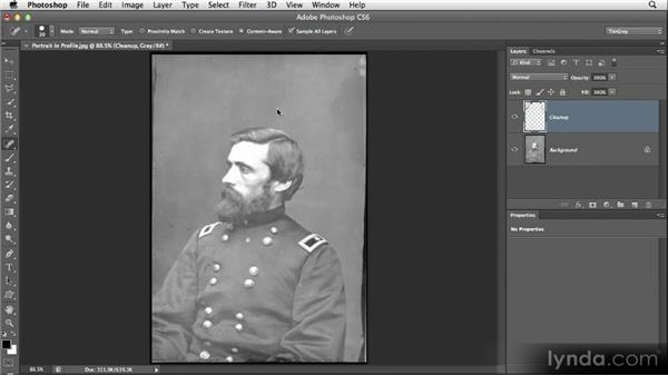 Working with layers: Restoring Photos with Photoshop CS6