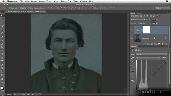 Automatic tonal adjustments: Restoring Photos with Photoshop CS6