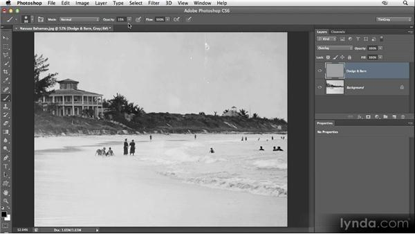 Dodging and burning: Restoring Photos with Photoshop CS6