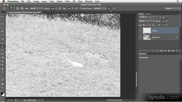 Cleaning without blending: Restoring Photos with Photoshop CS6
