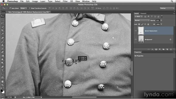 Duplicating elements: Restoring Photos with Photoshop CS6