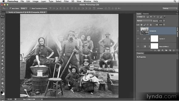 Saving detail for last: Restoring Photos with Photoshop CS6