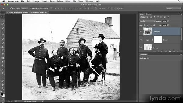 Improving local contrast: Restoring Photos with Photoshop CS6