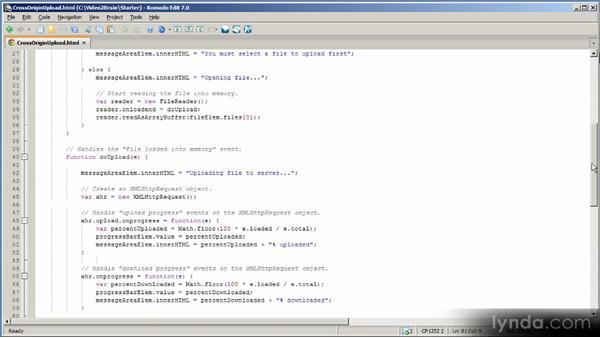 Implementing XMLHttpRequest Level 2 clients: HTML5 Power Workshop