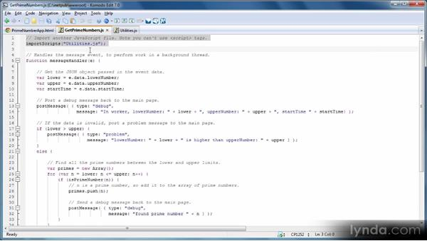 Communication patterns: HTML5 Power Workshop