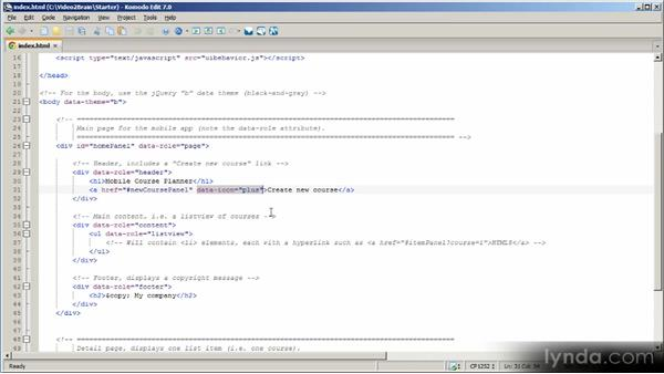 Implementing mobile web user interfaces: HTML5 Power Workshop
