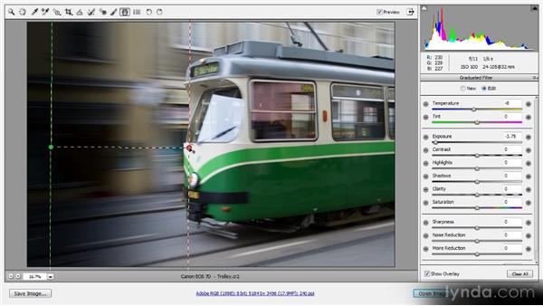 The Graduated filter: Photoshop CS6 Raw Workshop