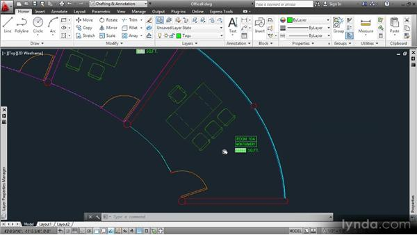 Updating fields: Data Management with AutoCAD 2013
