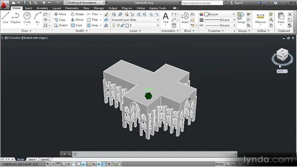 3D views, perspectives, and tools in AutoCAD: Up and Running with 3D in AutoCAD 2013