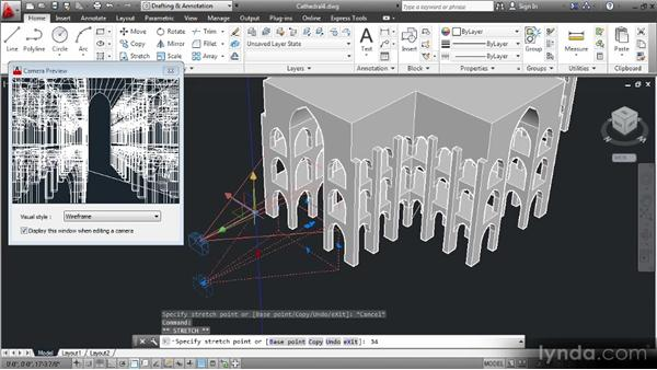 Composing perspective views: Up and Running with 3D in AutoCAD 2013