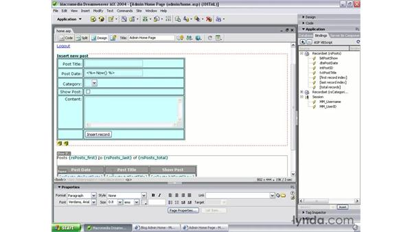 page navigation objects: Dreamweaver MX 2004 Dynamic Development with ASP