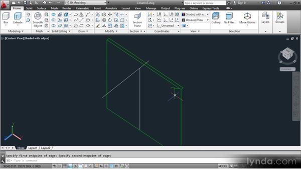 Extruding and sweeping the abacus: Up and Running with 3D in AutoCAD 2013