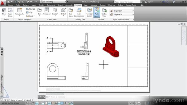 Adjusting projections: Up and Running with 3D in AutoCAD 2013