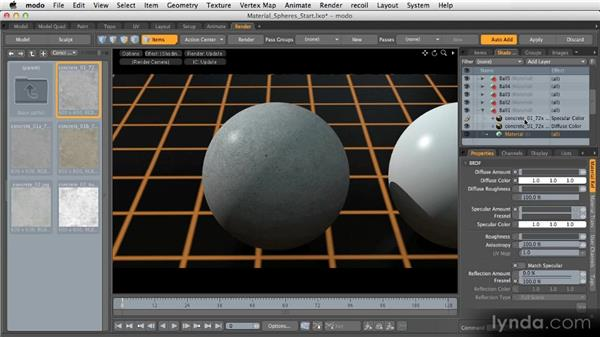 Bitmap textures: Getting Started with MODO 601