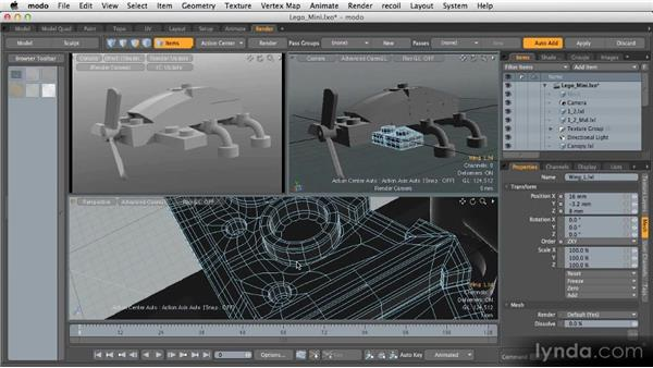 Modeling next steps: Getting Started with MODO 601