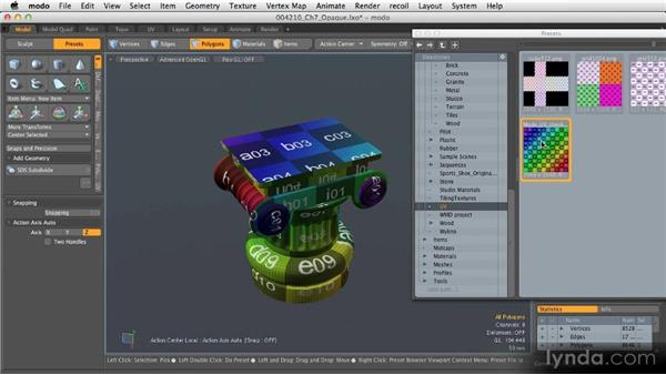 UV mapping next steps: Getting Started with MODO 601