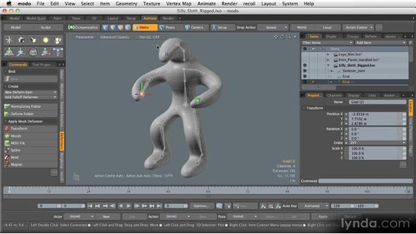Animation next steps: Getting Started with MODO 601