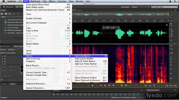 Waveform editing enhancements in Audition CS6: Audition CS6: New Features Workshop