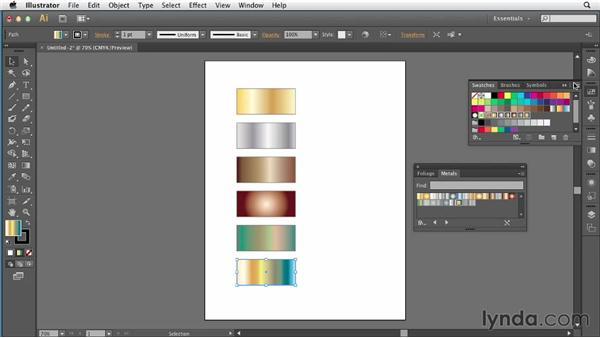 085 Using Illustrator to create InDesign gradient swatches: InDesign Secrets