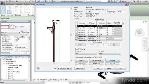 Adding the family to objects in a project: Revit Families Workshop