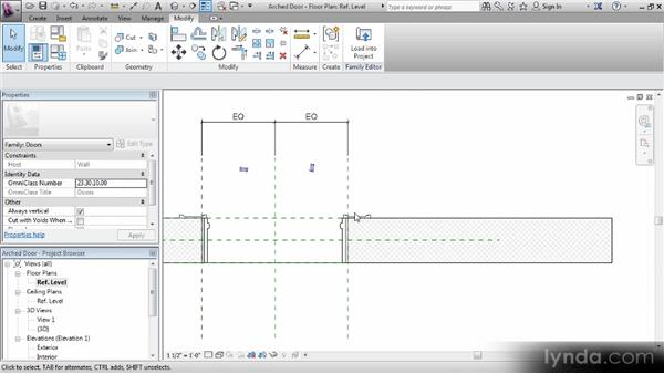 Creating a casing sweep: Revit Families Workshop