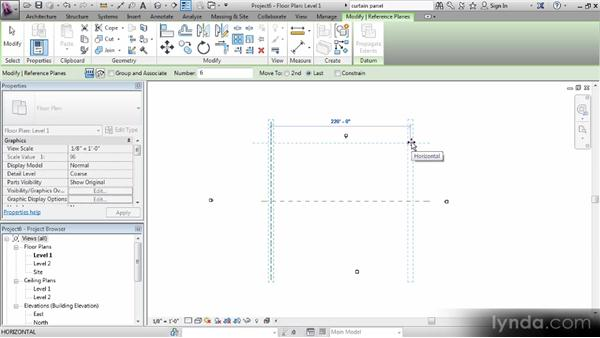 Creating reference planes and elevations: Revit Families Workshop