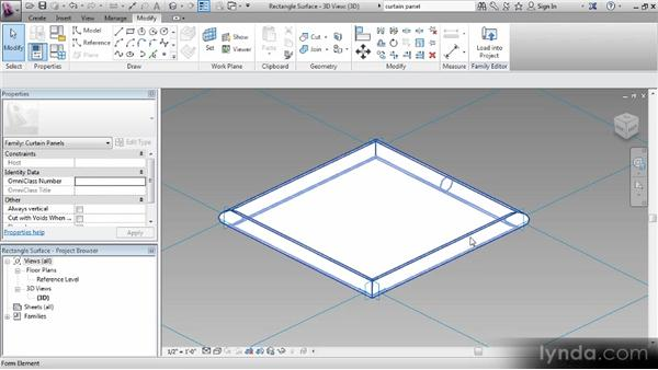 Creating the family: Revit Families Workshop