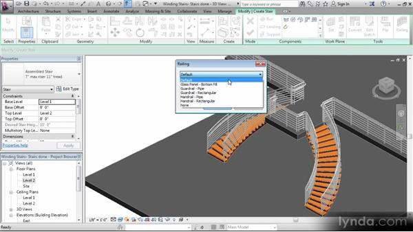 The circulation tools and families: Revit Stairs Workshop