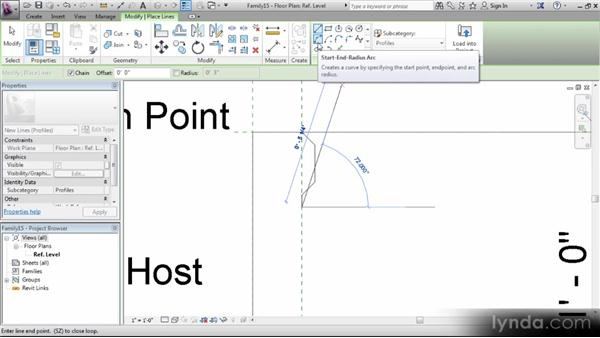 Creating a custom stringer profile: Revit Stairs Workshop