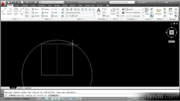 Drawing block geometry: Customization Techniques with AutoCAD 2013