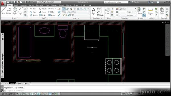 Loading linetypes and using them in a drawing: Customization Techniques with AutoCAD 2013