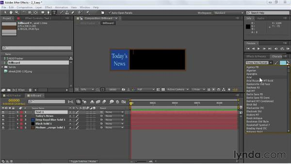 Constructing the motion graphics: VFX Techniques: Building Replacement with After Effects