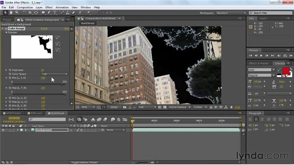 Removing an old sky: VFX Techniques: Building Replacement with After Effects