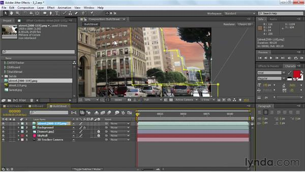 Adding a core rotoscope: VFX Techniques: Building Replacement with After Effects