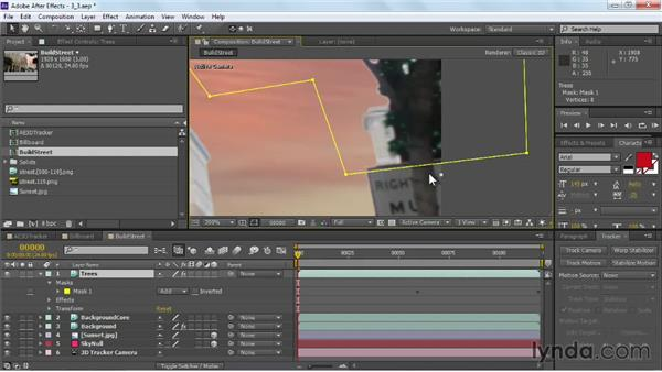 Refining keyed edges: VFX Techniques: Building Replacement with After Effects
