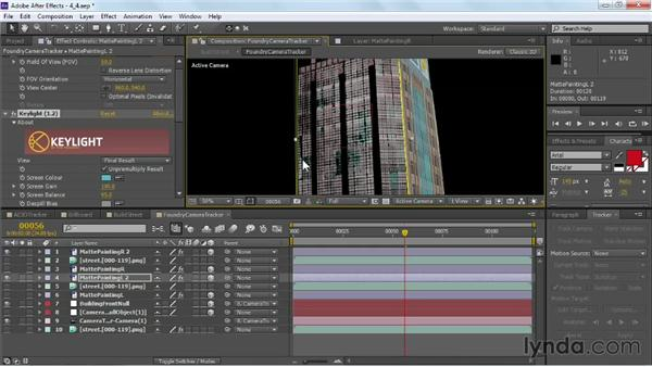 Faking reflections: VFX Techniques: Building Replacement with After Effects