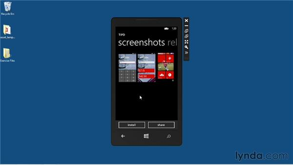 Seeing your app in the Windows Phone Store: Up and Running with Windows Phone 8 Development