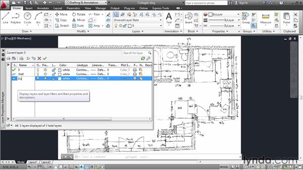 Welcome: Creating an Architectural Drawing with AutoCAD 2013
