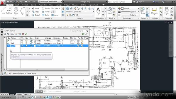 Starting your project: Creating an Architectural Drawing with AutoCAD 2013