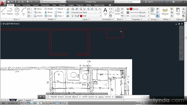 Drawing strategies: Creating an Architectural Drawing with AutoCAD 2013
