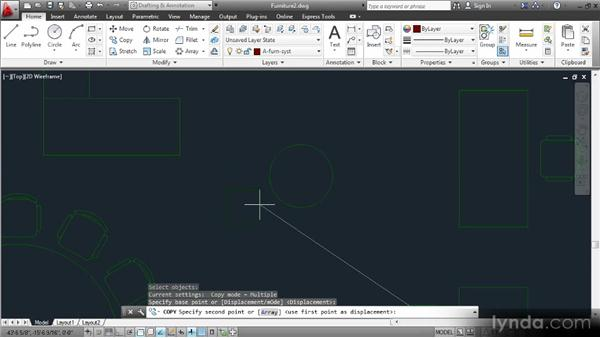 Creating groups: Space Planning with AutoCAD 2013